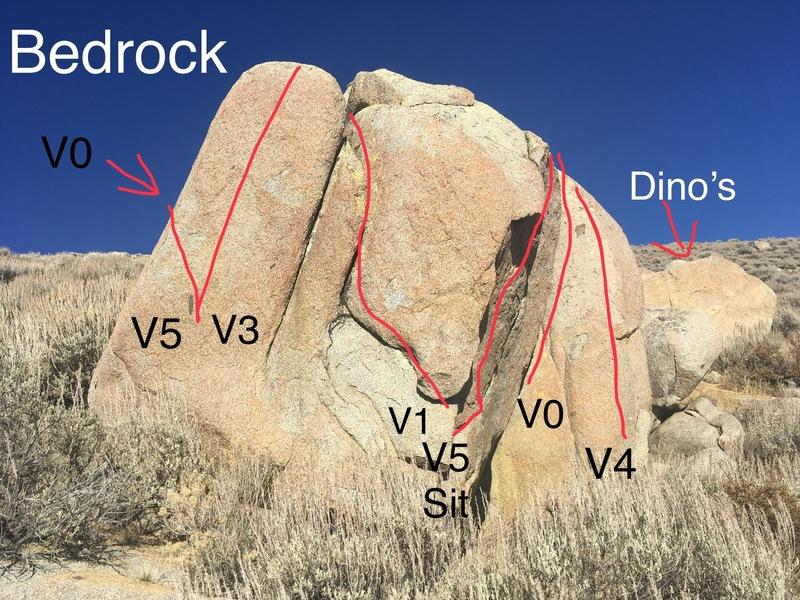 Bedrock left side