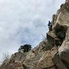 Near the top of La Cucharita. Photo by JH.