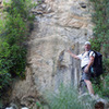 """Brent Webster cleared this path out of """"The Wall of Itchy"""" (Poison Oak), as we called it."""