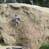 Fun, easy climb on the north face of Turlock