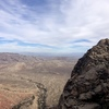 From the top of pitch 7 looking towards Whiskey Peak and Vegas