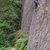 Fun climbing above beautifully maintained pathways.