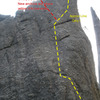 Goldstone's Riddle - routes are approximate