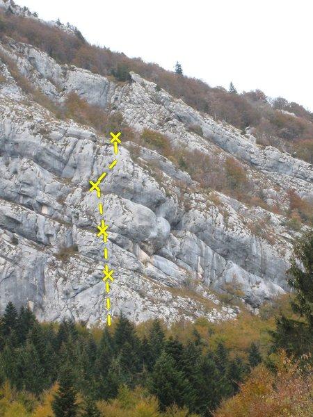 Location of Mon P'tit Piton