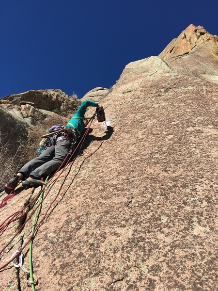 Lisa leading the FA of pitch 2.