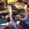 Crux of the route. First ascent: Jack Spessard