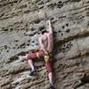Good climb for the beginner 10a leader.