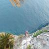 Randy Climbing Cruising for a bruising over the beautiful Okinawa Ocean.