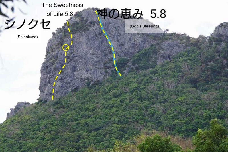 Sweatness of life, and 神の恵み (God's Blessing)