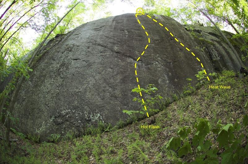 Boxcar Cliff.