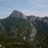 The massif Sainte Baume