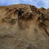 Evan cruising through the fun steep face section... wishing it was 80 feet longer