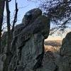 """Abbi near the top of """"The Pinnacle"""""""
