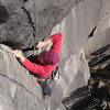 Bad holds in the crux bulge.