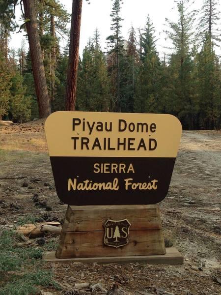 Squaw Dome Trailhead.