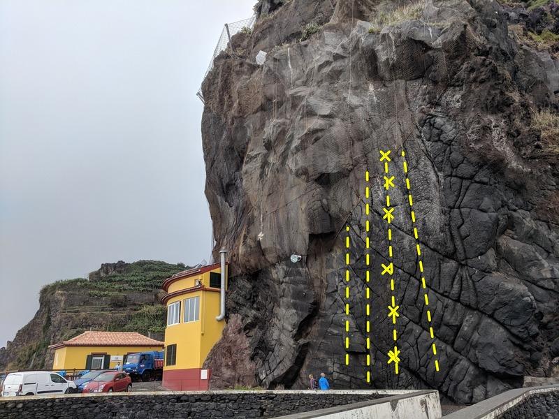 4 climbs 40 feet