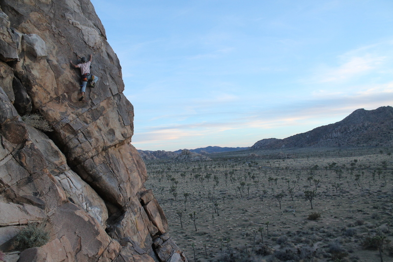 Opted to climb this route on our way out of the park. Did not disappoint!