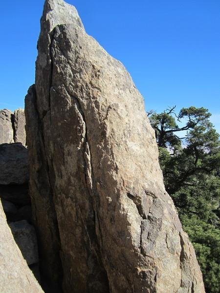 First Finger Rock.