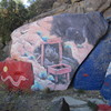 Chloride murals by Roy Purcell.