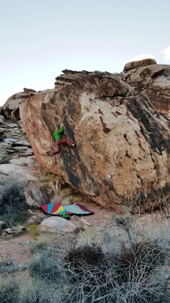 Didgeridoo on the Outback Boulder