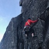 One the slab (First Ascent)