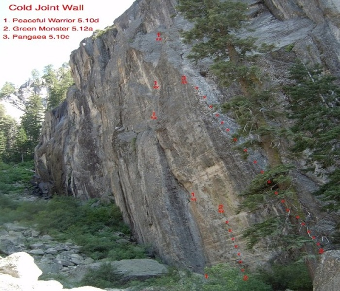 Topo to Cold Joint Wall