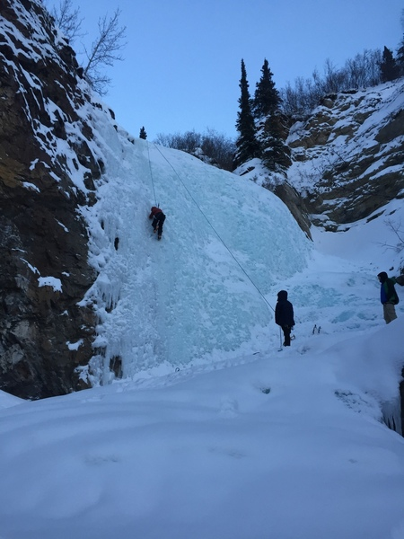 Fox Creek Ice Falls - Late Season 2018