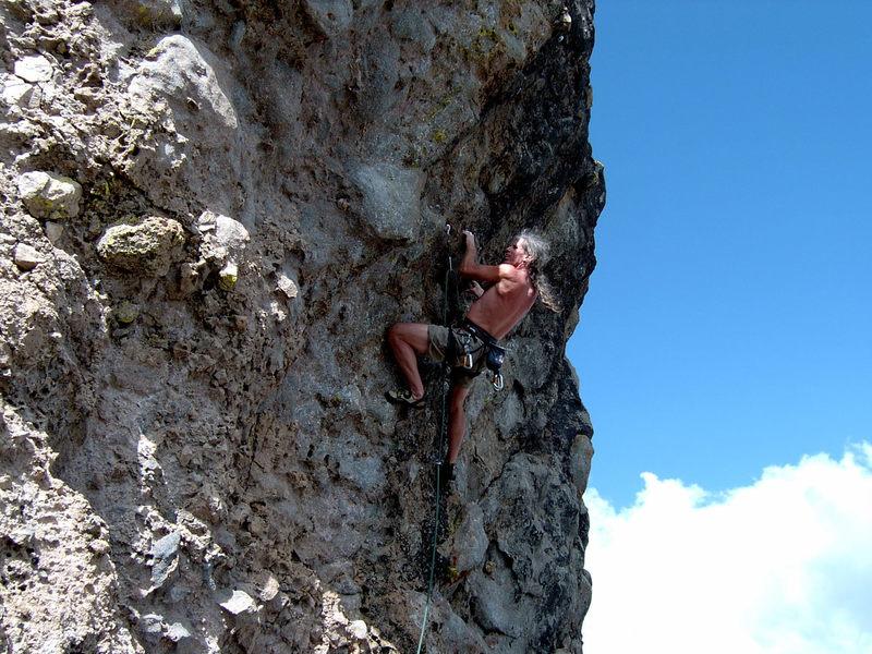 Craig Mc Clenahan Having fun at Eagle Peak.