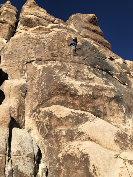 Julia on Not Just Another Pretty Face. 5.10c