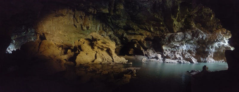 Be sure to check out the swimming at the cave near Camp one.