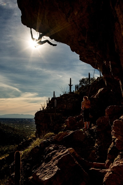 Gus Barber getting Eclipsed. Photo by Zach Clanton