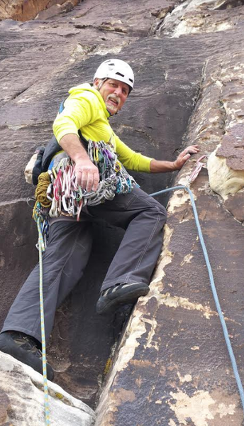 Mike Ward on the Timmy Memorial route