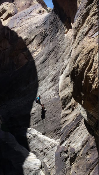 Red Rock canyoneering