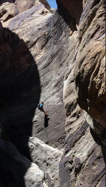 Red Rock canyoneering