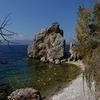 Lake Ohrid shore at Saint Nikola