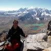 Solo ascent, the south face of Parcocaya! Killer views of the northeastern Vilcanota (Colque Cruz, Callangate, Jatunhuma, etc.)