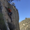 Nice rock on the upper section and fun crux