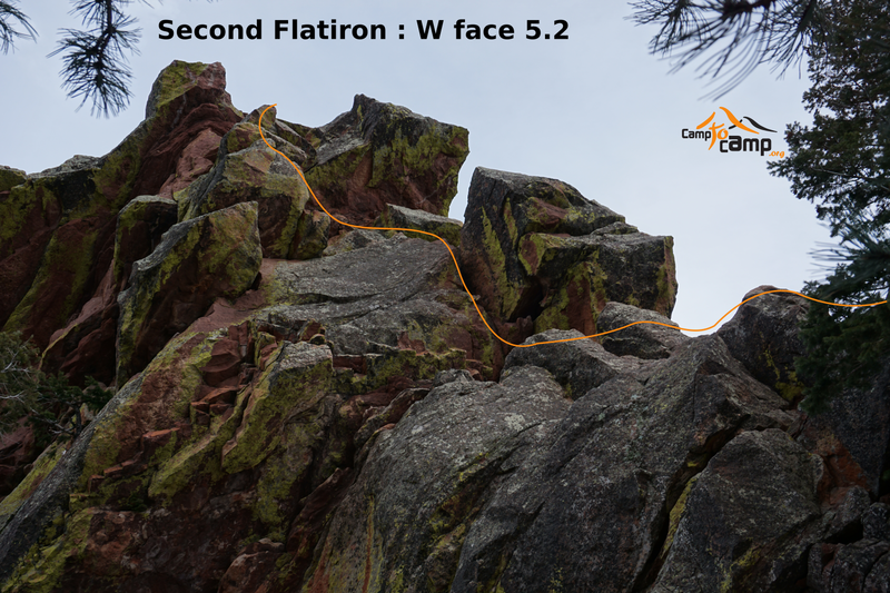 West Face, Second Flatiron.
