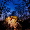 David Buback on the Mullusk in the dark to get the stars
