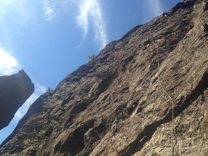 First Ascent of Dedo de Lavanda by Pete