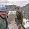 My brother and I on Wolf's Head Summit via East Ridge. July 2016.