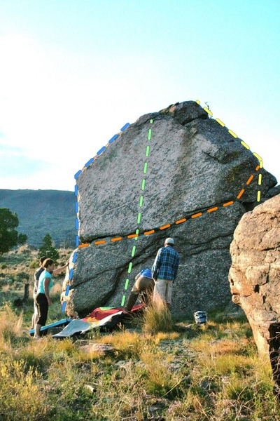 Pumphouse Boulder.