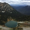 Gloomy Alaska Lake