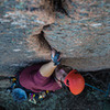 Reuben taking charge on Enchanted Rock's Little Feat 5.9