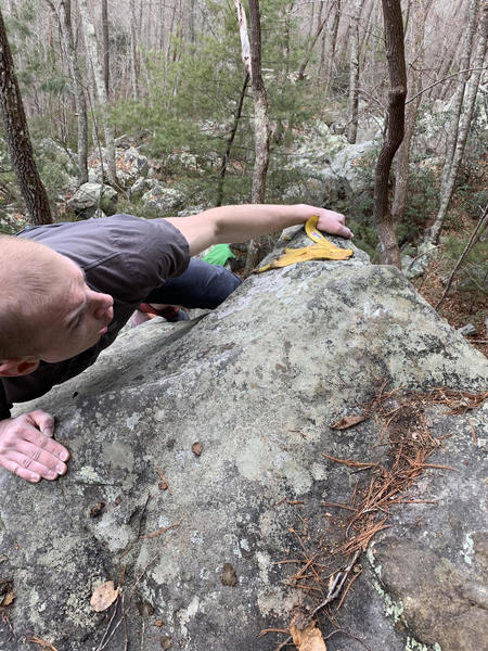watch out for choss in the downstream boulders