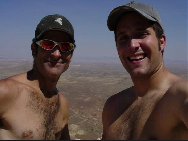 J-SAC and I on a sunny day somewhere in Black Velvet Canyon