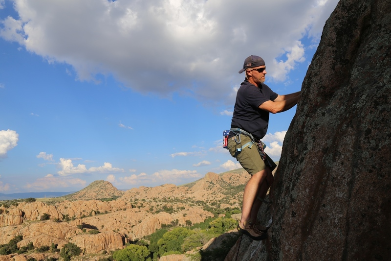 Jarrod Webb on the first ascent of second trimester
