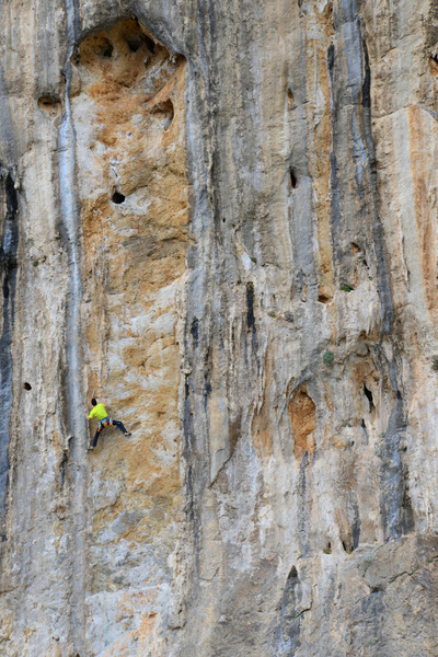 Biloute (7a) at Olympic Wall.
