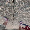 Very coarse rock.