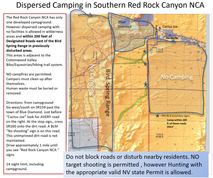 Dispersed Camping Options